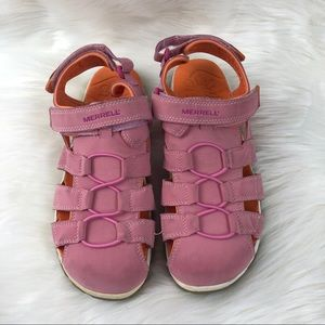 Merrell Pink and Orange Water Shoes